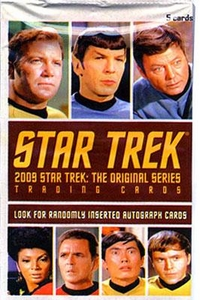 Star Trek The Original Series 2009 Edition Trading Card Pack