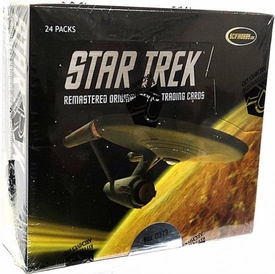 Star Trek Remastered Original Series Trading Cards Box