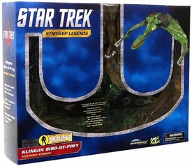 Star Trek Diamond Select Toys Exclusive Klingon Bird of Prey [Partially Cloaked]