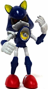 Tomy Gacha Sonic the Hedgehog 2.5 Inch Buildable Mini Figure Metal Sonic
