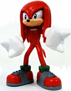 Tomy Gacha Sonic the Hedgehog 2.5 Inch Buildable Mini Figure Knuckles