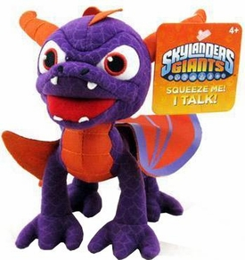 Skylanders GIANTS 7 Inch Talking Toss 'Ems Spyro BLOWOUT SALE!