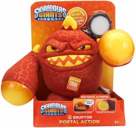 Skylanders GIANTS Portal of Power 10 Inch Lights & Sounds Plush Figure Eruptor