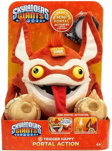 Skylanders GIANTS Portal of Power 10 Inch Lights & Sounds Plush Figure Trigger Happy