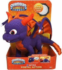 Skylanders GIANTS Portal of Power 10 Inch Lights & Sounds Plush Figure Spyro the Dragon
