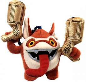Skylanders GIANTS 4 Inch Clip-On Plush Trigger Happy