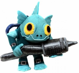 Skylanders GIANTS 4 Inch Clip-On Plush Gill Grunt BLOWOUT SALE!