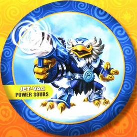 Skylanders GIANTS Candy Tin Jet-Vac [Sour Blue Rasberry Flavor] New!