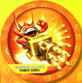 Skylanders GIANTS Candy Tin Trigger Happy [Sour Orange Flavor] New!