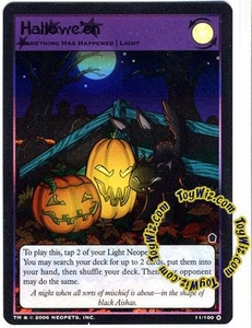 Neopets Trading Card Game Haunted Woods Holofoil Single Card #11 Hallowe'en