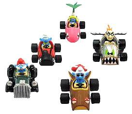 Goldie The Smurfs Diecast Car Smurf [Goggles] Pre-Order ships August