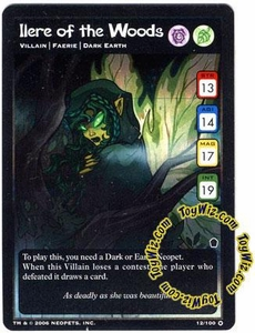 Neopets Trading Card Game Haunted Woods Holofoil Single Card #12 Ilere of the Woods