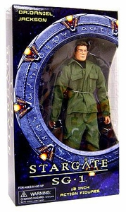 Diamond Select Toys Stargate SG-1 Series 1 Deluxe 12 Inch Action Figure Dr. Daniel Jackson