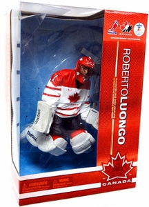 McFarlane Toys NHL Sports Picks 12 Inch Deluxe Action Figure Roberto Luongo (Team Canada)