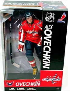 McFarlane Toys NHL Sports Picks 12 Inch Deluxe Action Figure Alexander Ovechkin (Washington Capitals) Red Jersey