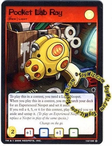Neopets Trading Card Game Haunted Woods Holofoil Single Card #14 Pocket Lab Ray