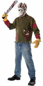 Friday the 13th Adults Costume Jason (Adult-Standard Size) #15806