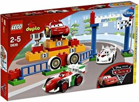 LEGO DUPLO Disney Cars Exclusive Set #5839 World Grand Prix