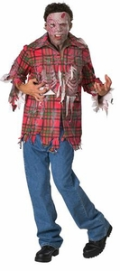 Dawn of the Dead #16968 Plaid Boy Costume (Adult Standard Size)