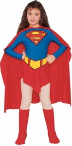 Comic Book Super Heroes Kids Costume Supergirl (Child-Small Size) #18726