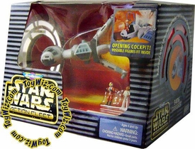 Star Wars Action Fleet B-wing Starfighter with Rebel Pilot and Admiral Ackbar Action Figures