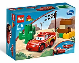 LEGO DUPLO Disney Cars Set #5813 Lightning McQueen