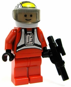 LEGO Star Wars LOOSE Mini Figure Rebel B-Wing Pilot with Blaster