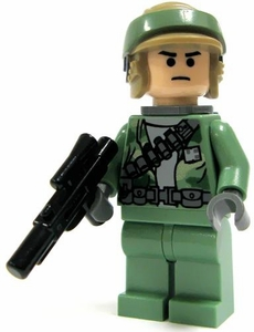 LEGO Star Wars LOOSE Mini Figure Rebel Commando with Blaster