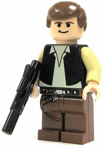 LEGO Star Wars LOOSE Mini Figure Han Solo with Blaster [A New Hope]