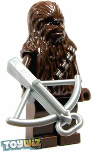 LEGO Star Wars LOOSE Mini Figure Chewbacca with Silver Bowcaster
