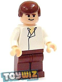 LEGO Star Wars LOOSE Mini Figure Han Solo [Sail Barge] Light Flesh