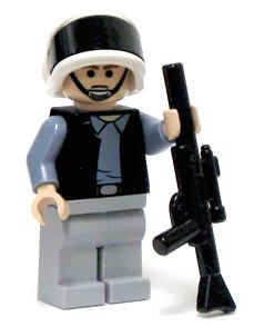 LEGO Star Wars LOOSE Mini Figure Rebel Trooper with Blaster Rifle
