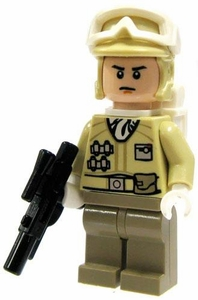 LEGO Star Wars LOOSE Mini Figure Hoth Rebel Trooper with Blaster [Version 2]