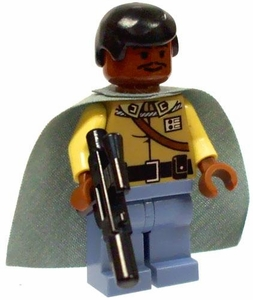 LEGO Star Wars LOOSE Mini Figure General Lando Calrissian with Dark Cape & Blaster