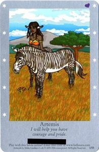 Bella Sara Horses Trading Card Game Series 1 Single Card 1/55 Artemis
