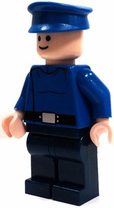 LEGO Star Wars LOOSE Mini Figure  Figure Republic Pilot in Blue Uniform [Light Flesh]