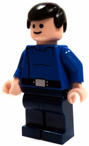 LEGO Star Wars LOOSE Mini Figure Republic Captain in Blue Uniform [Light Flesh]