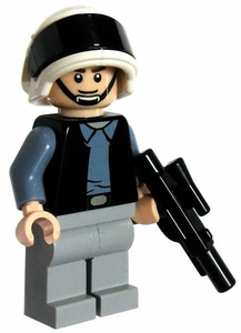 LEGO Star Wars LOOSE Mini Figure Rebel Trooper with Blaster [Smile]