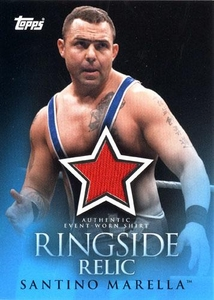 Topps 2009 WWE Trading Cards Single Card Ringside Relic Santino Marella