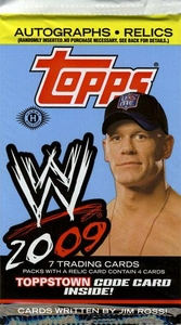 Topps 2009 WWE Trading Cards Pack