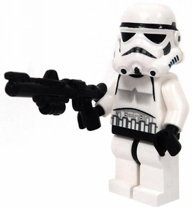 LEGO Star Wars LOOSE Mini Figure Stormtrooper with BrickArms DC-15 Blaster Rifle