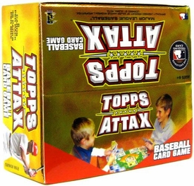 Topps 2010 Attax Card Game MLB Major League Baseball Booster BOX [36 Packs]