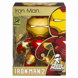 Hasbro Iron Man 2 Movie 2010 SDCC San Diego Comic-Con Exclusive Mighty Muggs Figure Iron Man