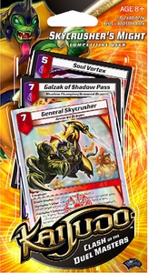 Kaijudo Clash of the Duel Masters Competitive Deck Skycrusher's Might