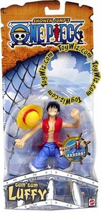 One Piece Mattel Action Figure Gum Gum Luffy