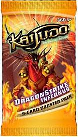 Kaijudo Trading Card Game Dragonstrike Infernus Booster Pack