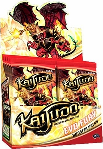 Kaijudo Trading Card Game Evo Fury Booster Box [24 Packs]