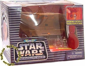 Star Wars Action Fleet Sandcrawler with Jawa and Scavenger Droid Action Figures