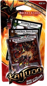 Kaijudo Trading Card Game Limited Edition Competitive Deck Rocket Storm