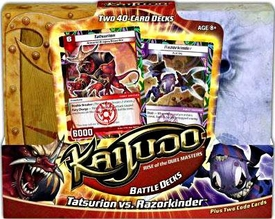Kaijudo Trading Card Game Battle Decks Tatsurion vs. Razorkinder